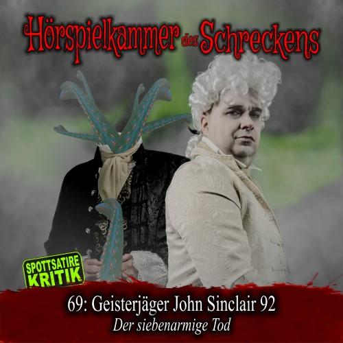 HdS 69: Geisterjäger John Sinclair 92 – Der siebenarmige Tod