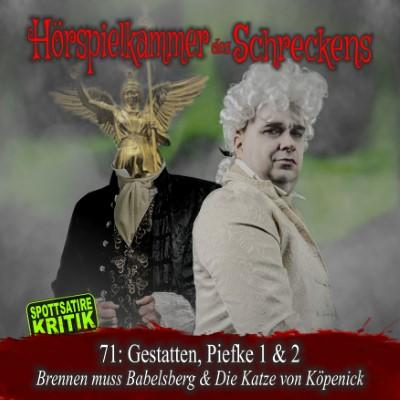 HdS 71: Gestatten, Piefke 1 (Brennen muss Babelsberg) & 2 (Die Katze von Köpenick)
